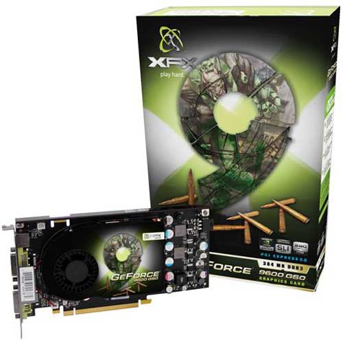 XFX GeForce 9600 GSO