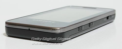 Samsung F490. Вид снизу.