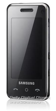 Samsung F490. Вид общий.
