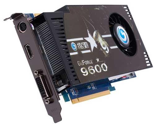 Galaxy GeForce 9600 GSO