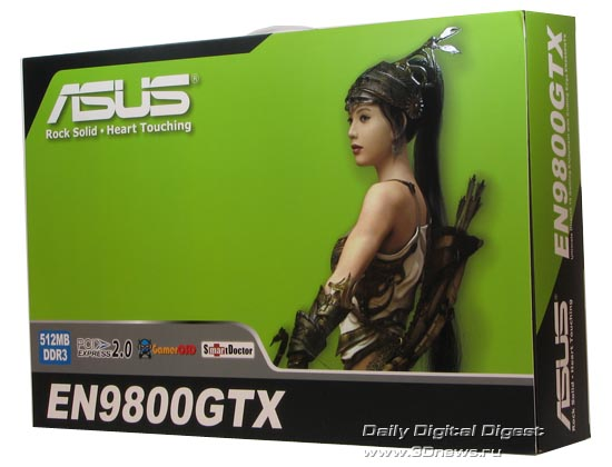 A package for ASUS 9800GTX