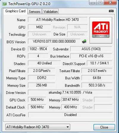 скачать драйвер для видеокарты ati mobility radeon x1100