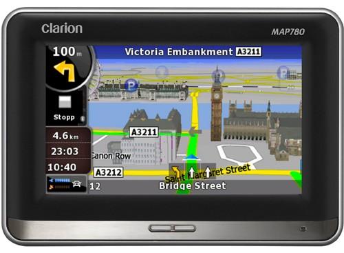 Clarion MAP680 и MAP780: навигаторы для всей Европы