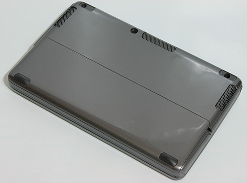 HTC X9500 Shift. Вид снизу