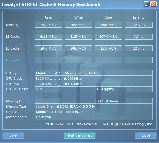 HTC X9500 Shift. Информация о памяти