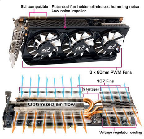 Inno3D i-Chill GeForce 9800 GTX Accelero Xtreme