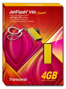 Transcend 4GB JetFlash V90 Pizazz