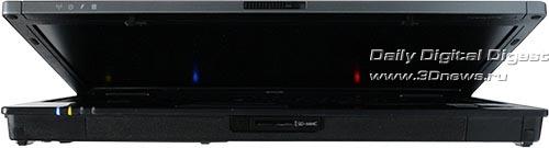 HP Compaq 6910p. Вид спереди.