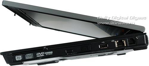 HP Compaq 6910p. Вид справа.