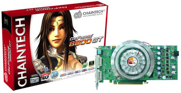 Chaintech GSE88GTC Overclocking Version 512MB
