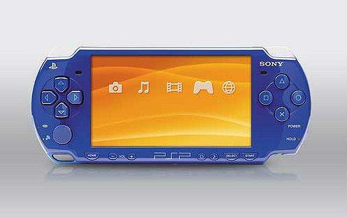 Синяя спортивная PSP