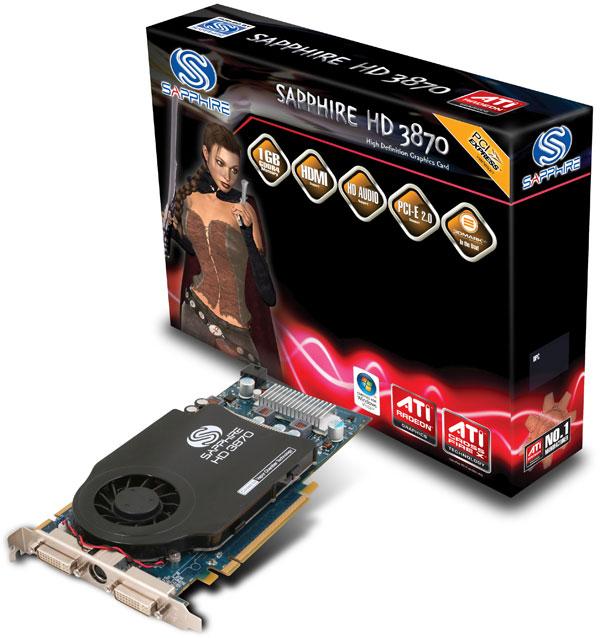 Sapphire Radeon HD 3870 1GB GDDR4