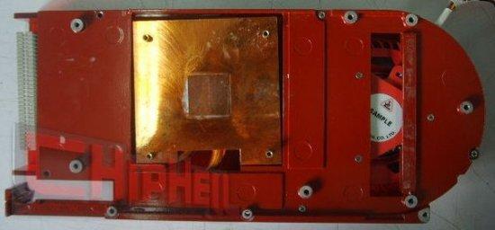 VGA-cooler of Radeon HD 4870 (RV770)