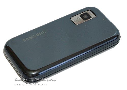 Samsung F700. Вид сзади.