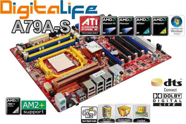 Foxconn DigitalLife A79A-S