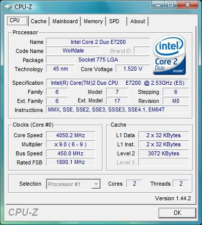 Intel E7200