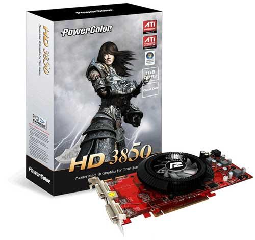 PowerColor HD 3850 1GB DDR2