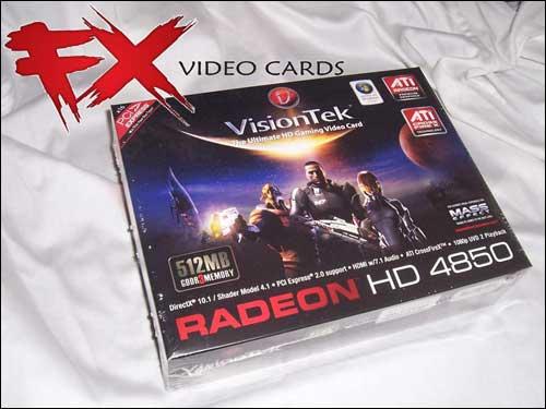 VisionTek Radeon HD 4850