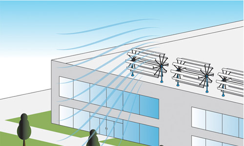 Во Владивостоке снижают расходы на отопление с помощью ветрогенераторов