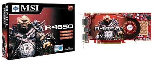 MSI R4850-T2D512