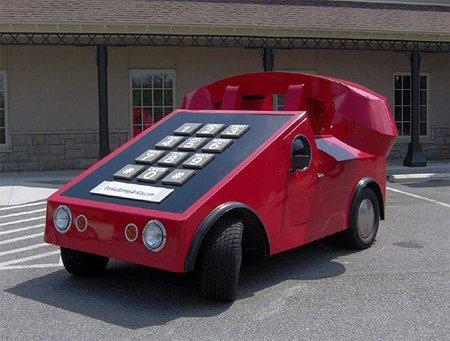 Фольксваген превратили в машину-телефон