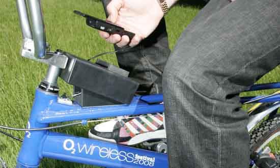 ...европейского мобильного оператора, придумали новый экологически безопасный способ зарядки мобильных телефонов.