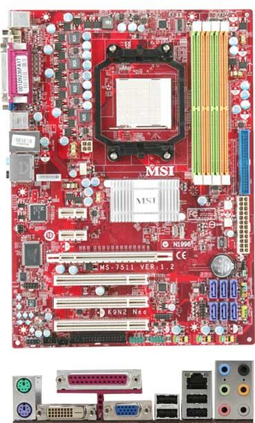 MSI K9N2G Neo