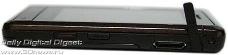 Giorgio Armani Samsung SGH P520 . Вид слева