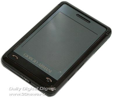 Giorgio Armani Samsung SGH P520 . Вид общий