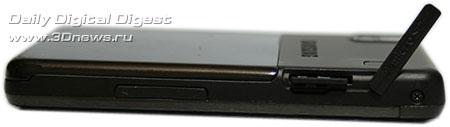 Giorgio Armani Samsung SGH P520 . Вид справа