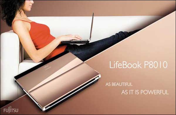 Fujitsu LifeBook P8010 Limited Pink Gold Edition