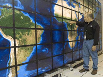 Супердисплей для суперкомпьютера NASA
