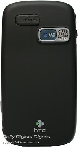 HTC TyTN II. Вид сзади