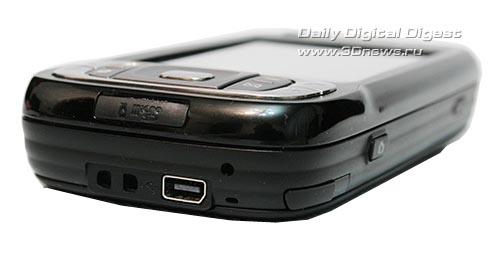 HTC TyTN II. Вид снизу
