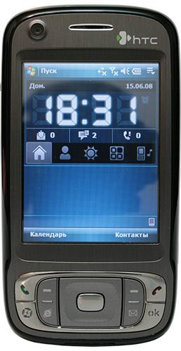 HTC TyTN II. Вид спереди