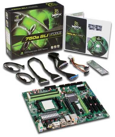 XFX nForce 750a SLI