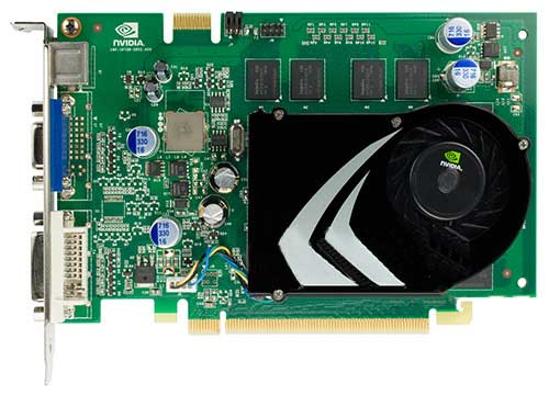 NVIDIA GeForce 9500 GT DDR2