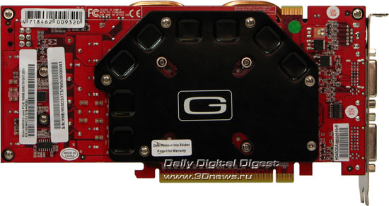 Video card � rear view