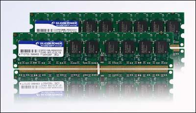 Silicon Power 2GB DDR2-800 ECC Unbuffered DIMM Modules