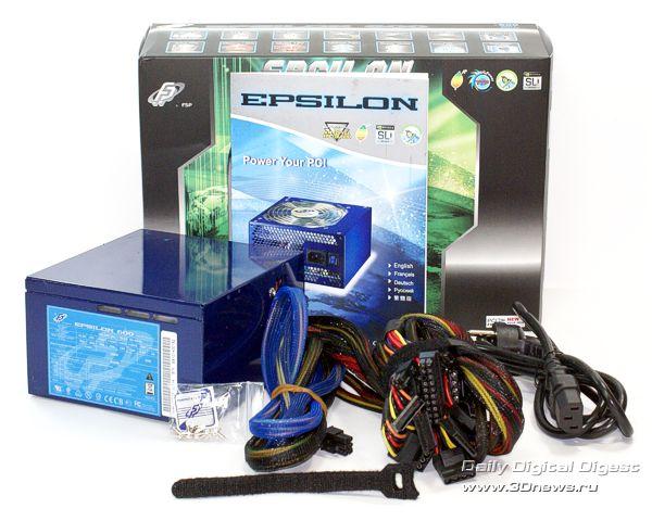Комплектация Epsilon 600W