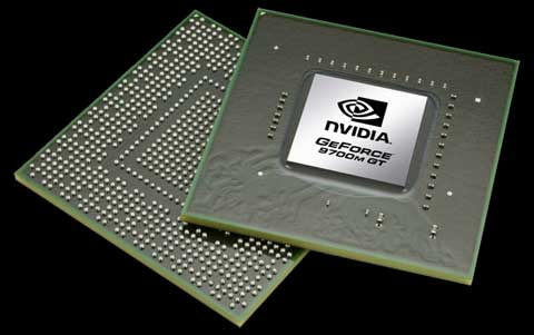 NVIDIA GeForce 9700M GT