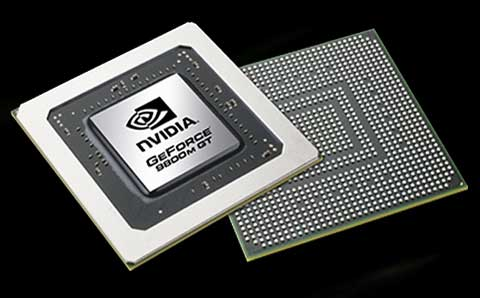 NVIDIA GeForce 9800M GT