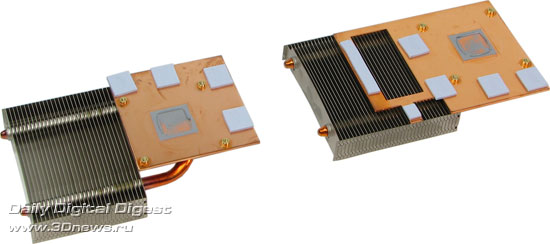 Система охлаждения от ASUS EAH3850 X2