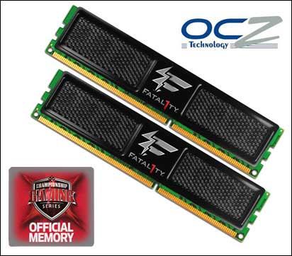 OCZ 2GB DDR3 PC3-10666 Fatal1ty Edition Memory Kit