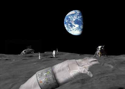 Lunar GPS
