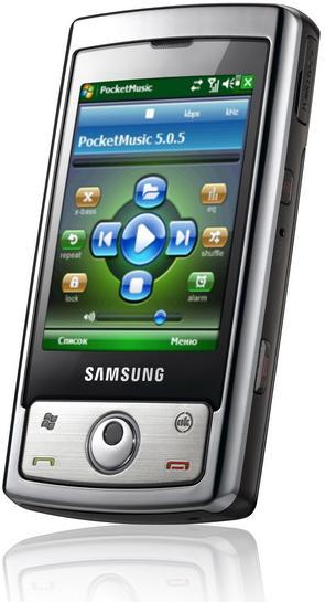 Официальный анонс коммуникатора Samsung i740