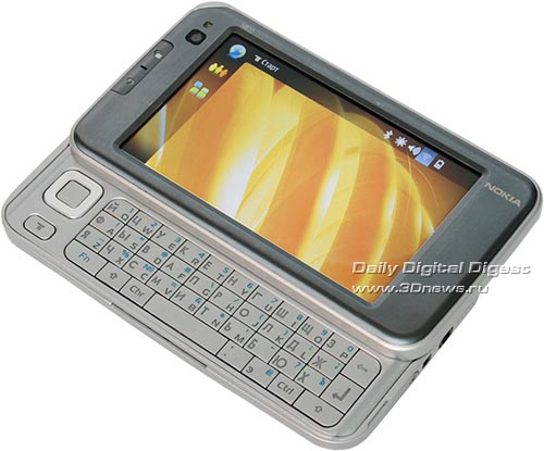 Nokia N810. Клавиатурный блок