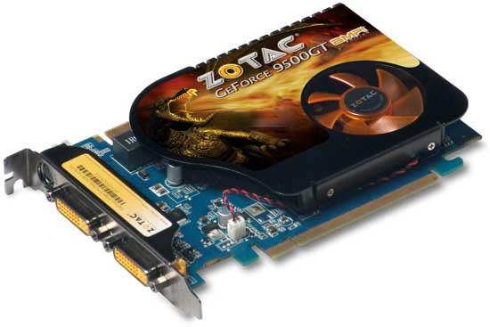 Zotac GeForce 9500 GT AMP! Edition