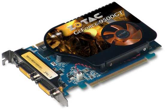 Zotac GeForce 9500 GT DDR3
