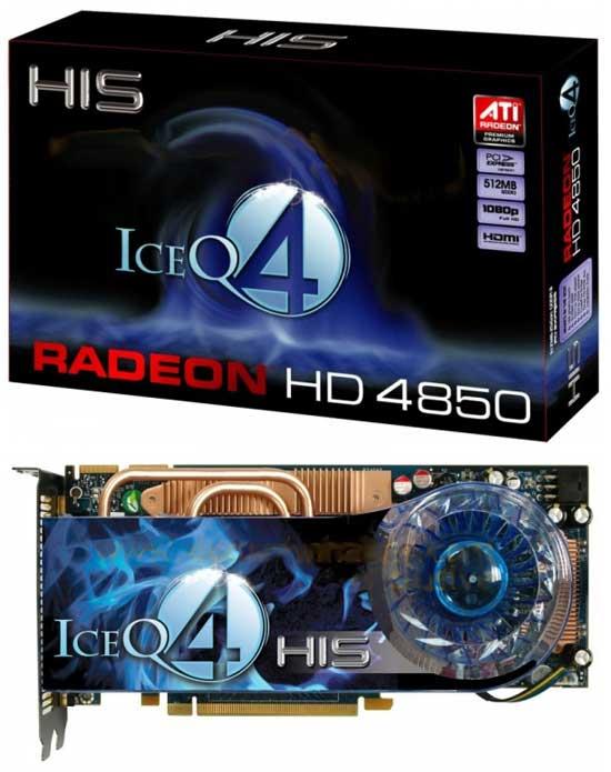 HIS HD 4850 ICEQ4 Turbo